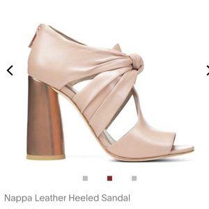 Donald Pliner Bailey nappa leather heeled sandal